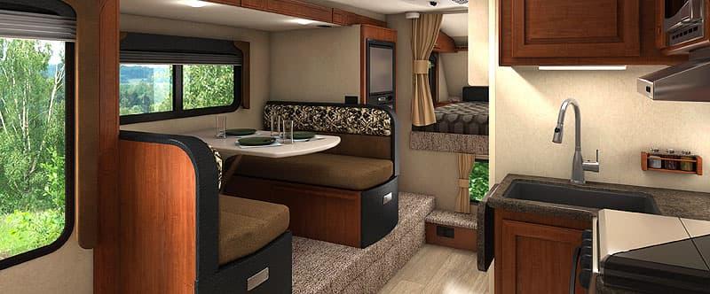 2017 Lance 1172 interior