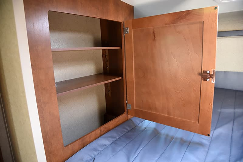 Lance 975 cabover cabinet clothes