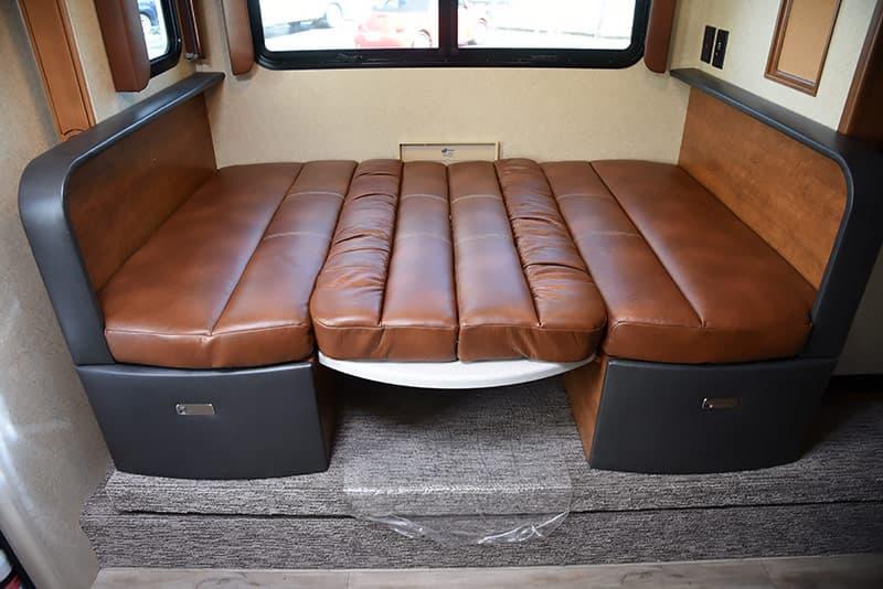Lance 975 dinette full-size adult bed