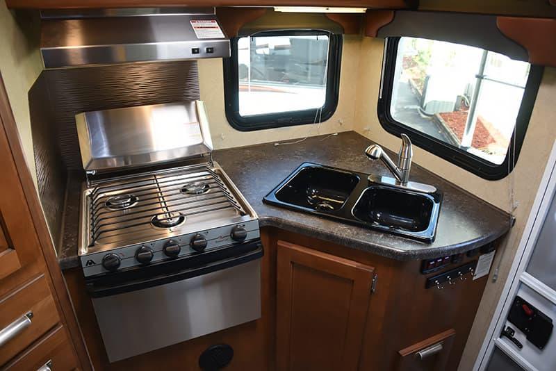 Lance 975 three-burner propane stove