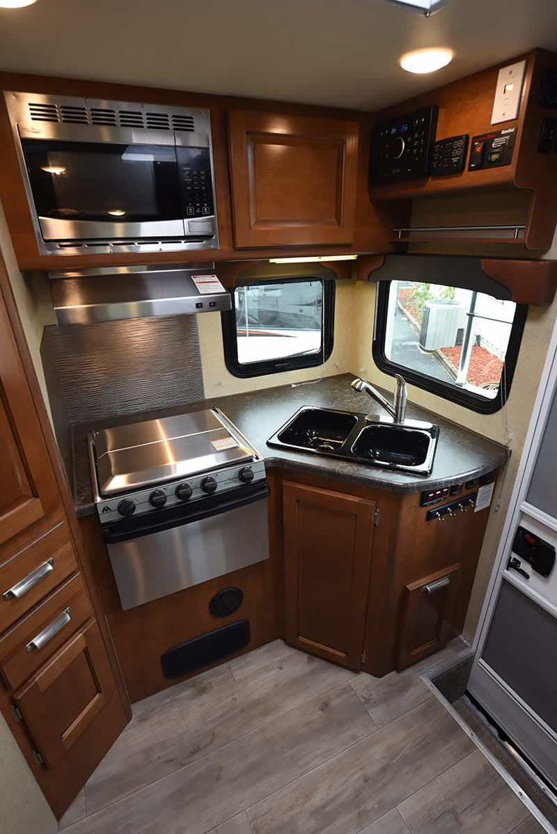 Lance 975 Review Kitchen Galley