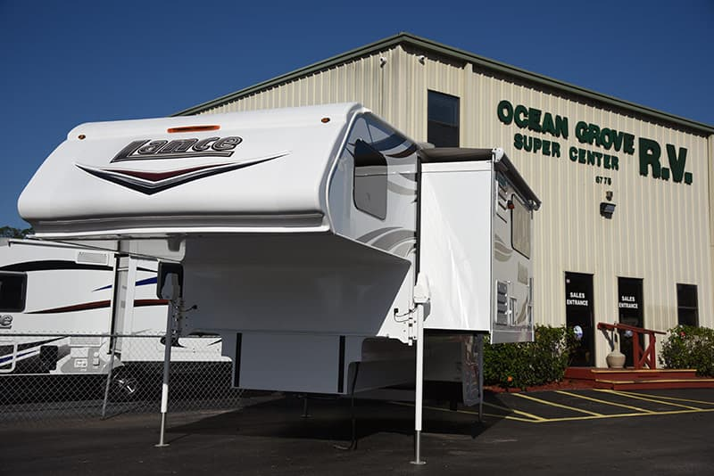 Lance 975 at Ocean Grove RV in St Augustine Florida