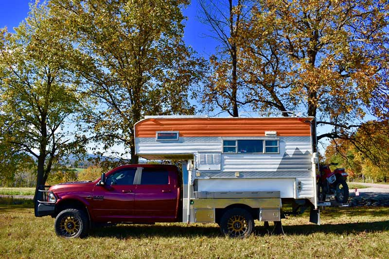 2017 Ram 3500 With 1969 Camper