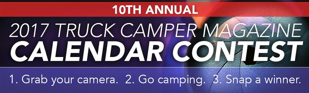 2017 Truck Camper Magazine Calendar Contest