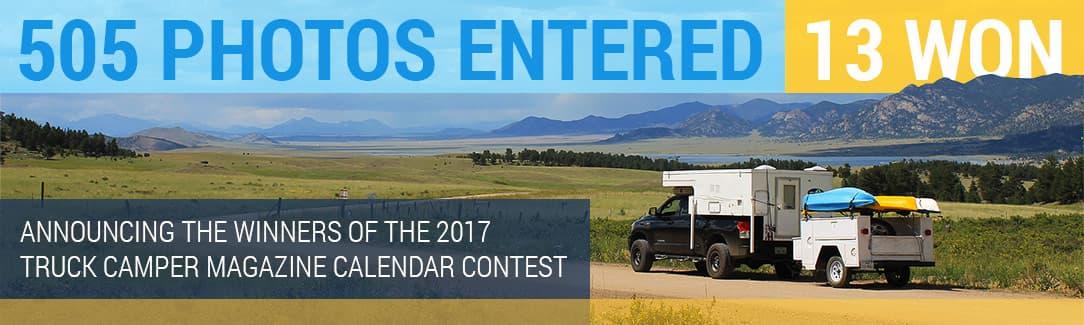2017 Calendar Contest Winners