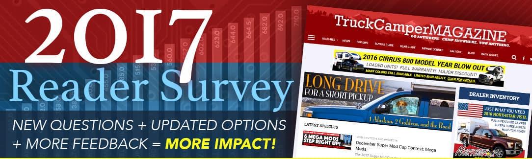 2017 Truck Camper Magazine Reader Survey
