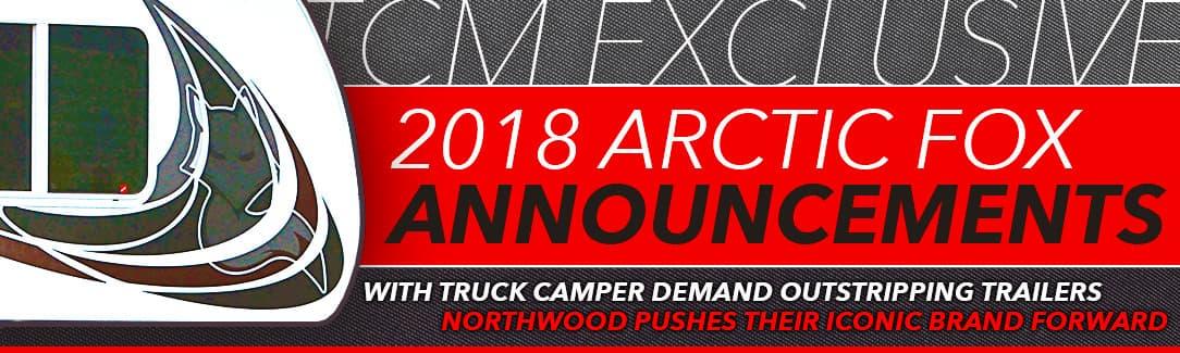 2018 Arctic Fox announcements