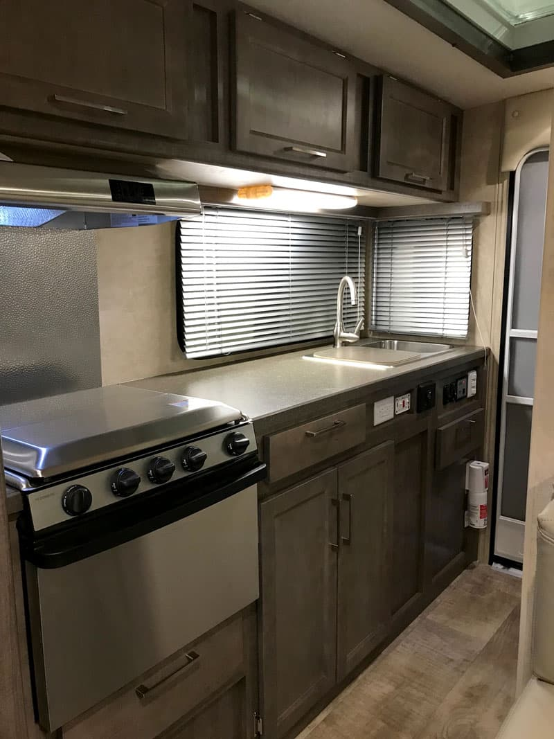 2018 Bigfoot Campers Stainless Steel Appliances