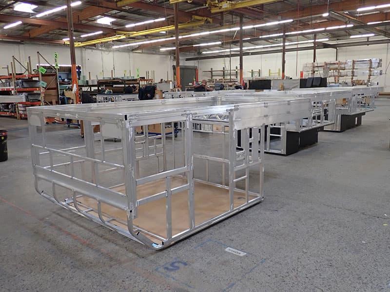 2018 Four Wheel Camper Factory Aluminum Frame Campers