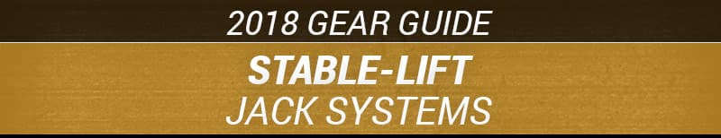 2018 StableLift Jack Systems