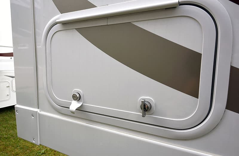Keyed Alike Compartment Doors
