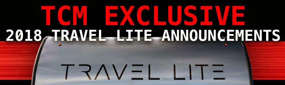 2018 Travel Lite Camper announcements