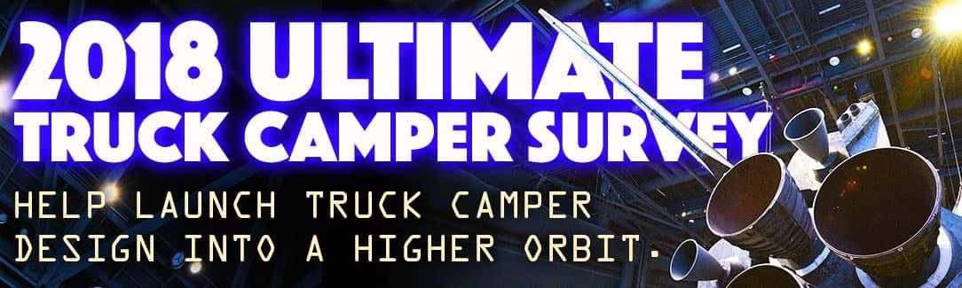 2018 Truck Camper Survey