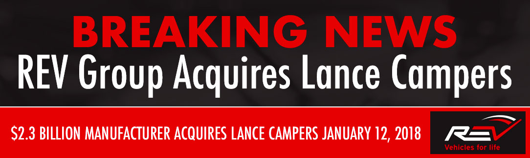 REV Group Lance Campers