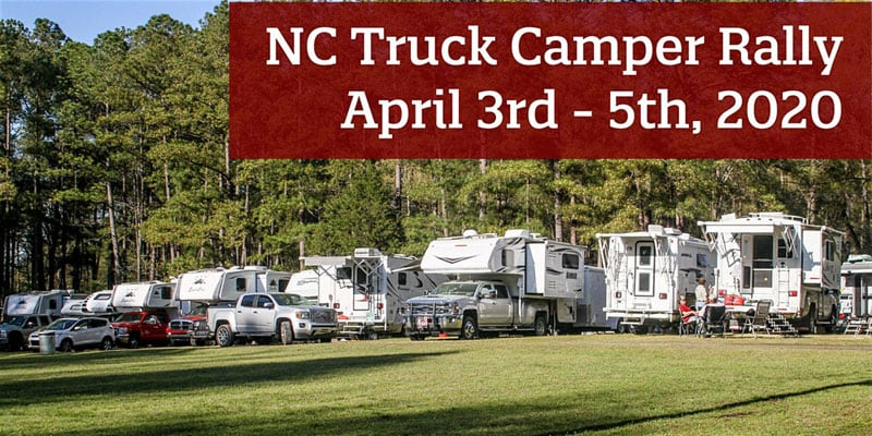 NC Truck Camper Rally 2020