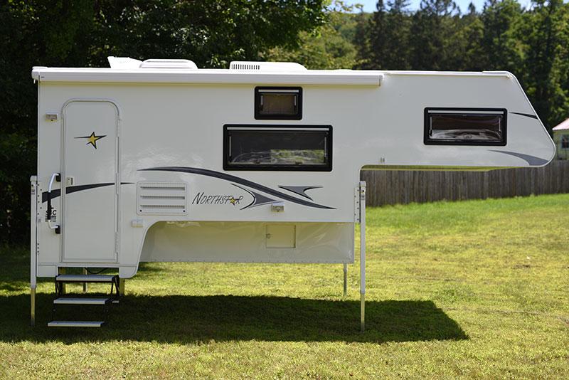 Northstar 12 Foot Camper Side Entry Door View