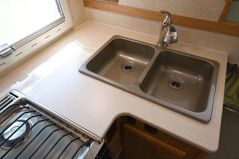 Northstar 12STC Camper Kitchen Sink