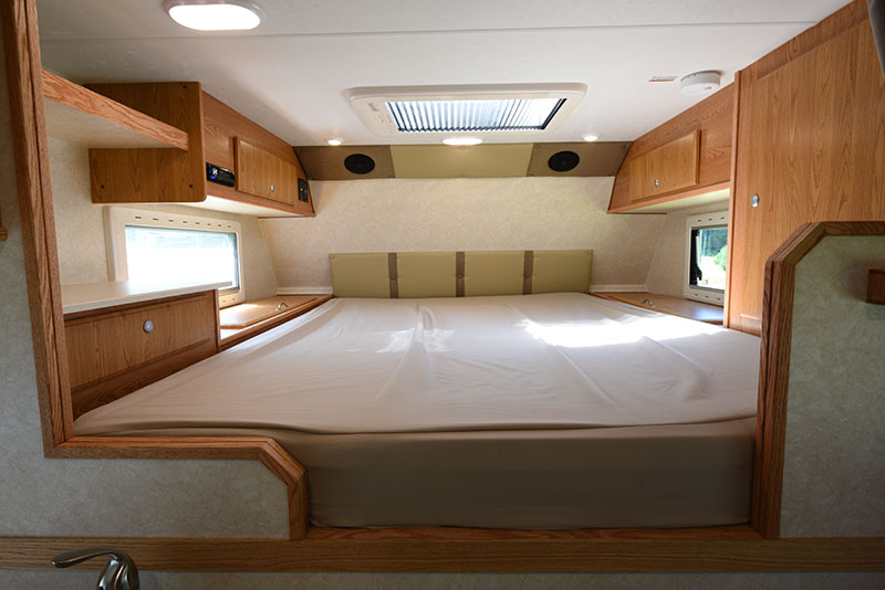 Northstar 12STC Camper Review Cabover Bedroom