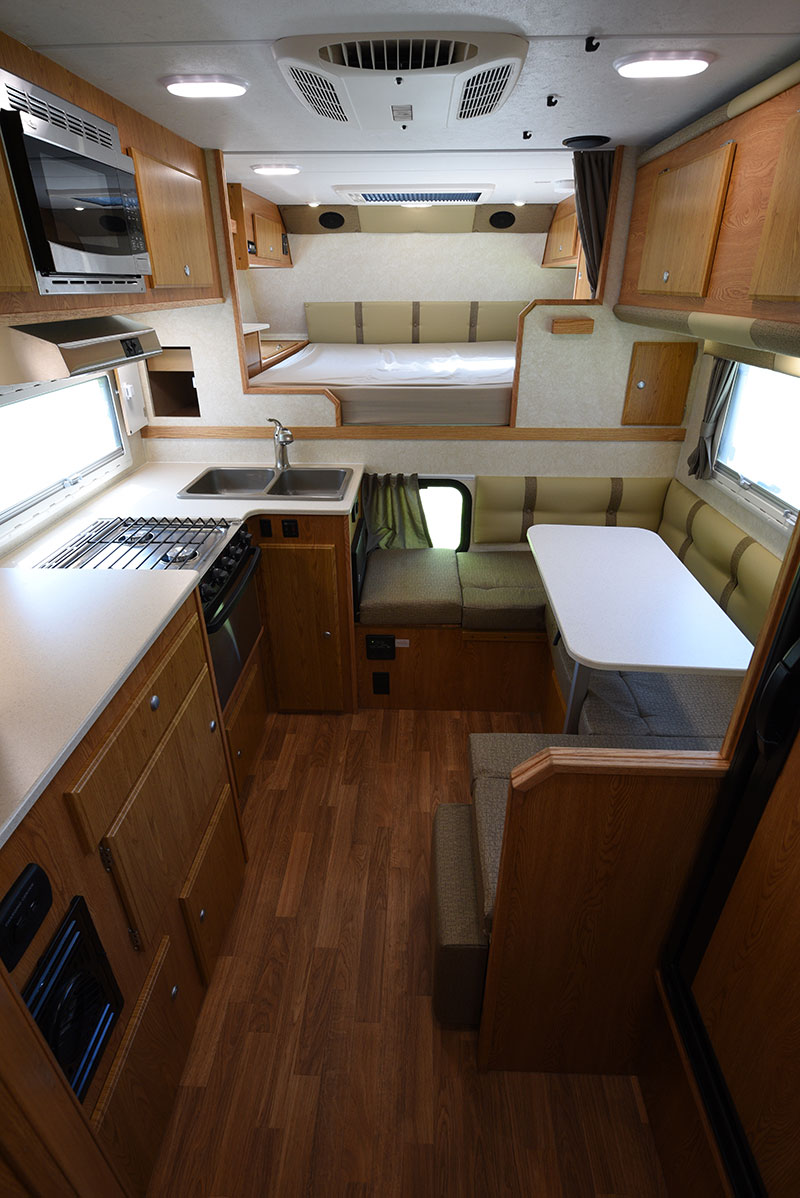 Northstar 12STC Camper Review Interior