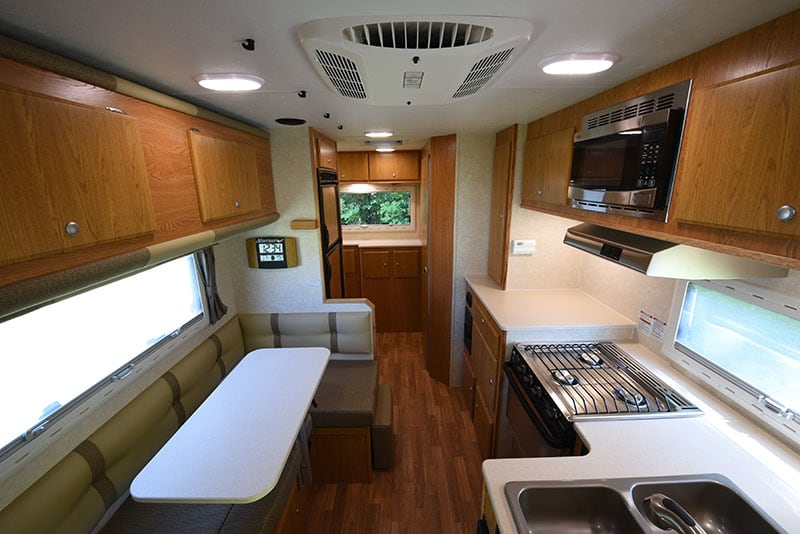 Northstar 12STC Camper Review Interior Space