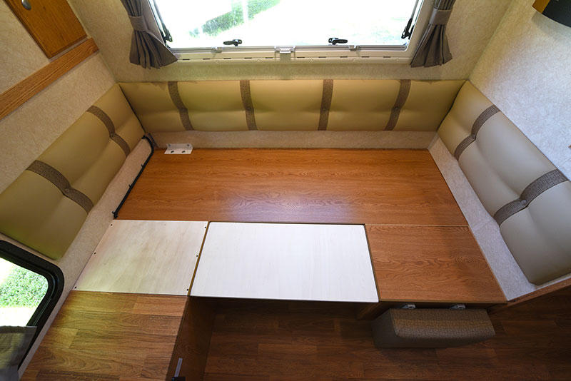 Northstar 12STC Dinette Bed Platform