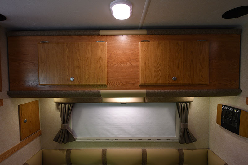 Northstar 12STC Dinette Upper Cabinetry Closed