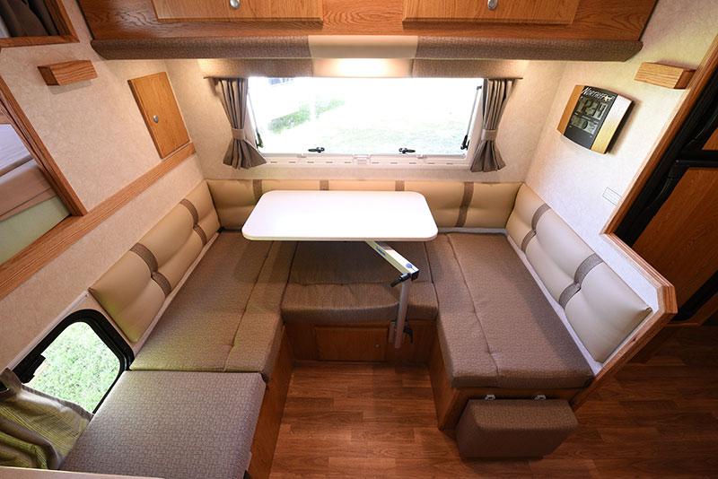 Northstar 12STC Camper Dinette