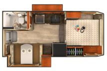 2019 Lance 1062 Buyers Guide Floor Plan