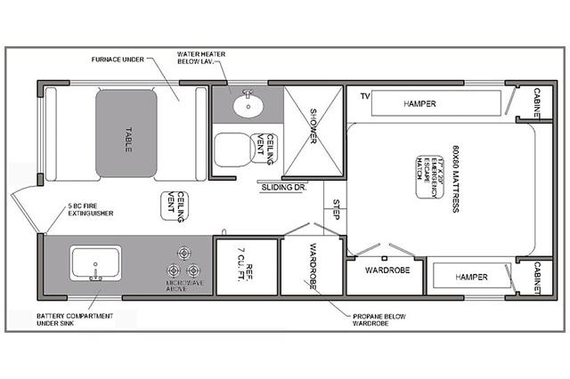 Buyers Guide Rugged Mountain Granite 11RL Floor Plan