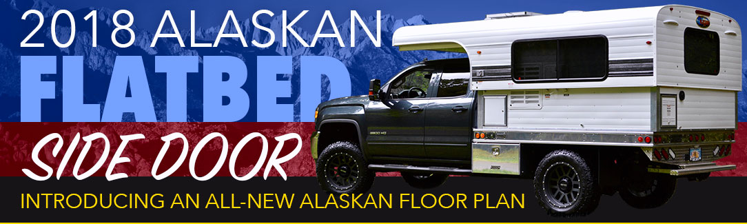 Alaskan Flatbed Pop Up Camper