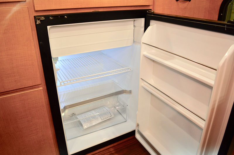 Alaskan Flatbed Camper Refrigerator
