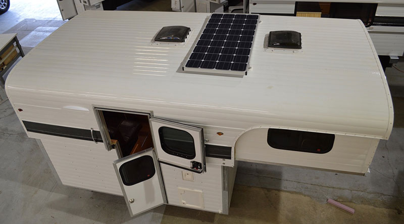 Tcm Exclusive 2018 Alaskan Flatbed Side Entry Camper
