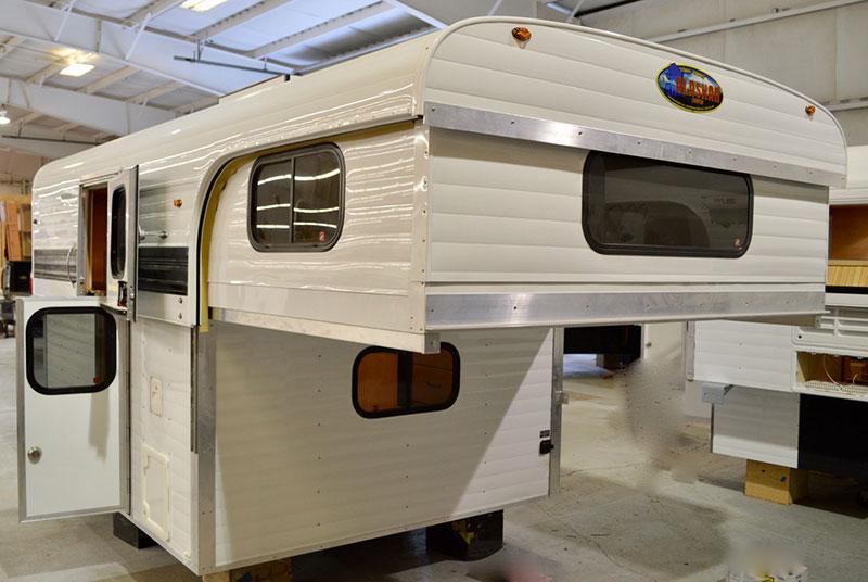 Alaskan Pop Up Flatbed Camper