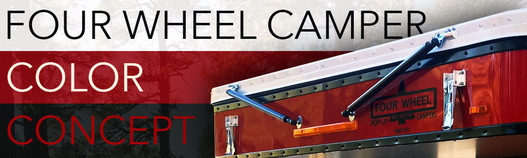 Four Wheel Camper Red