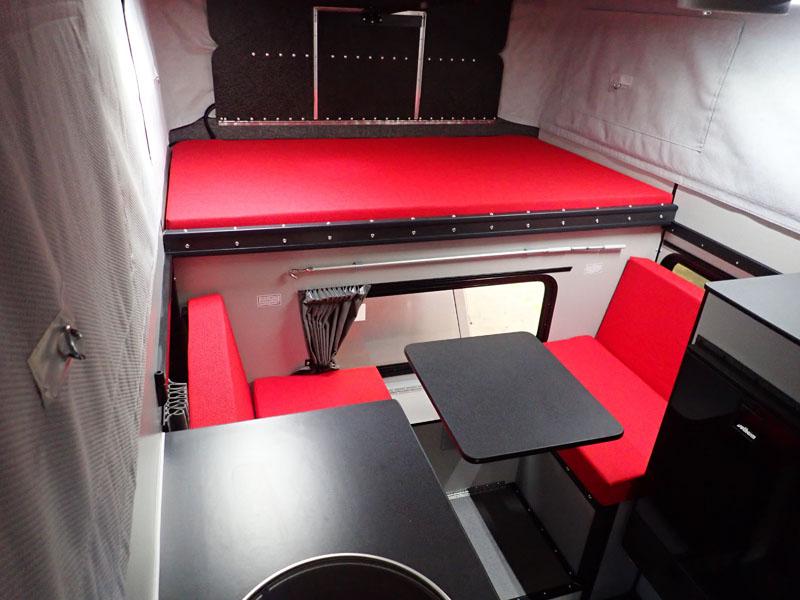 Four Wheel Red Camper Fabrics