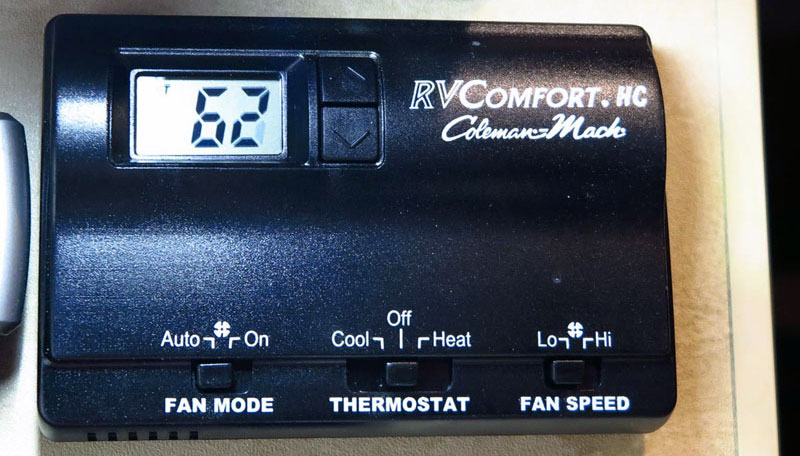 RV Comfort Thermostat