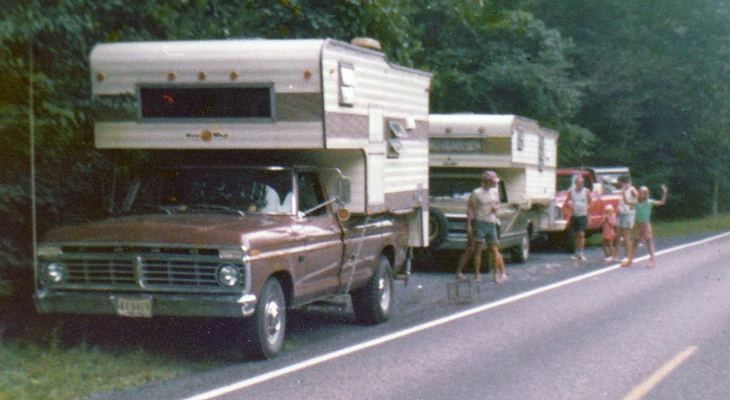 1975 Truck And Sun Way Camper