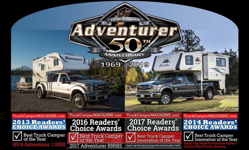 Adventurer 50th Anniversary Brochure Readers Choice