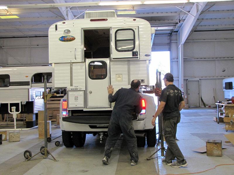 Alaskan Factory Camper Installed