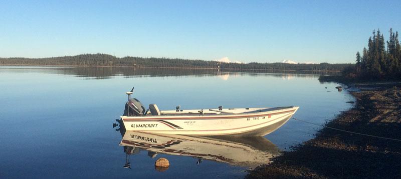 Alumacraft Boat Behind Camper