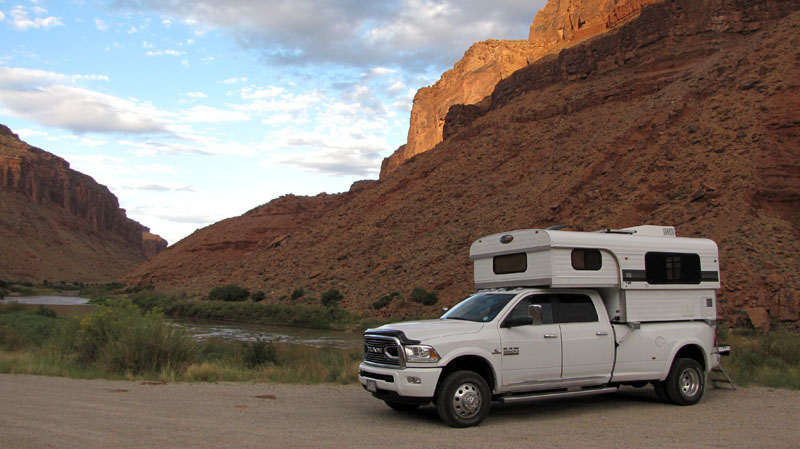 Camping In Moab With Alaskan And Dually Truck