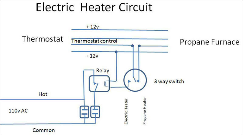 Electric Heater Circuit Diagram
