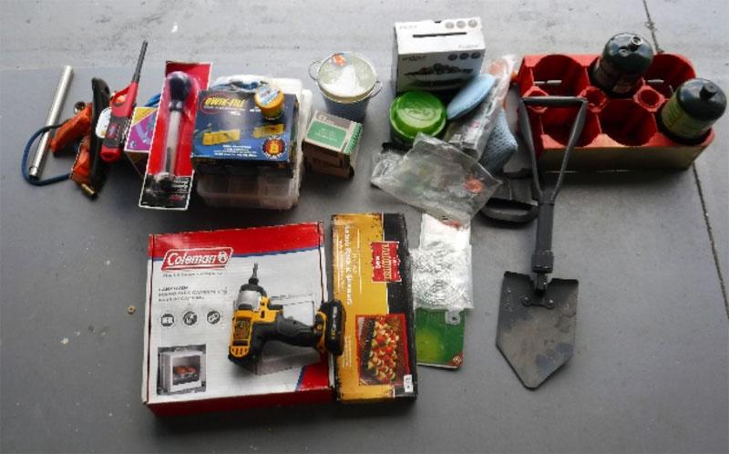 Exterior Storage Propane Shovel Drill