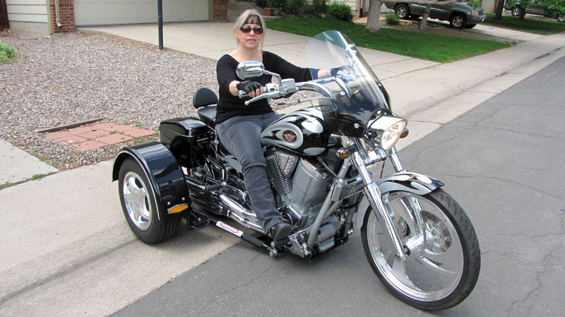 Jay And Her 2003 Victory Vegas