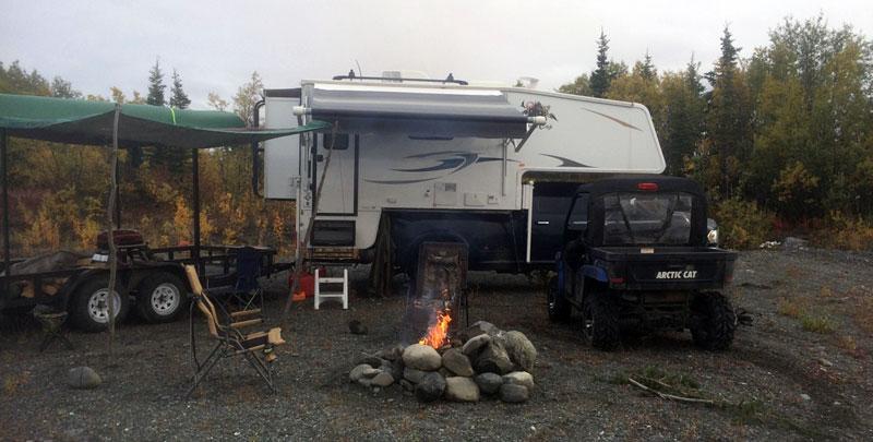 Lake Louise Road, Alaska Fish Remote Lake