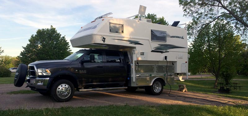 Northern Lite Camping With Flatbed