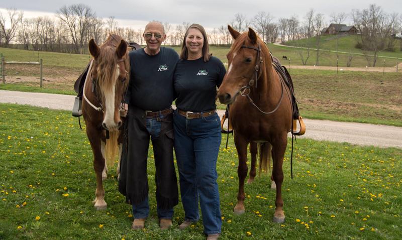 Pete And Linda Horse Farm In Ohio