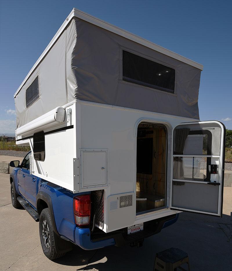 Phoenix Mini Max Camper Entry Door Open