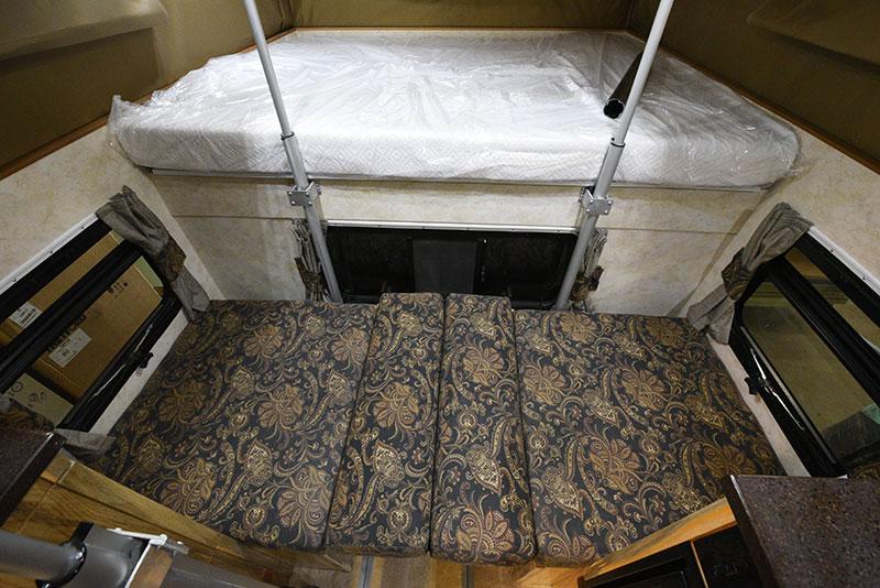 Phoenix Mini Max Camper Dinette Bed