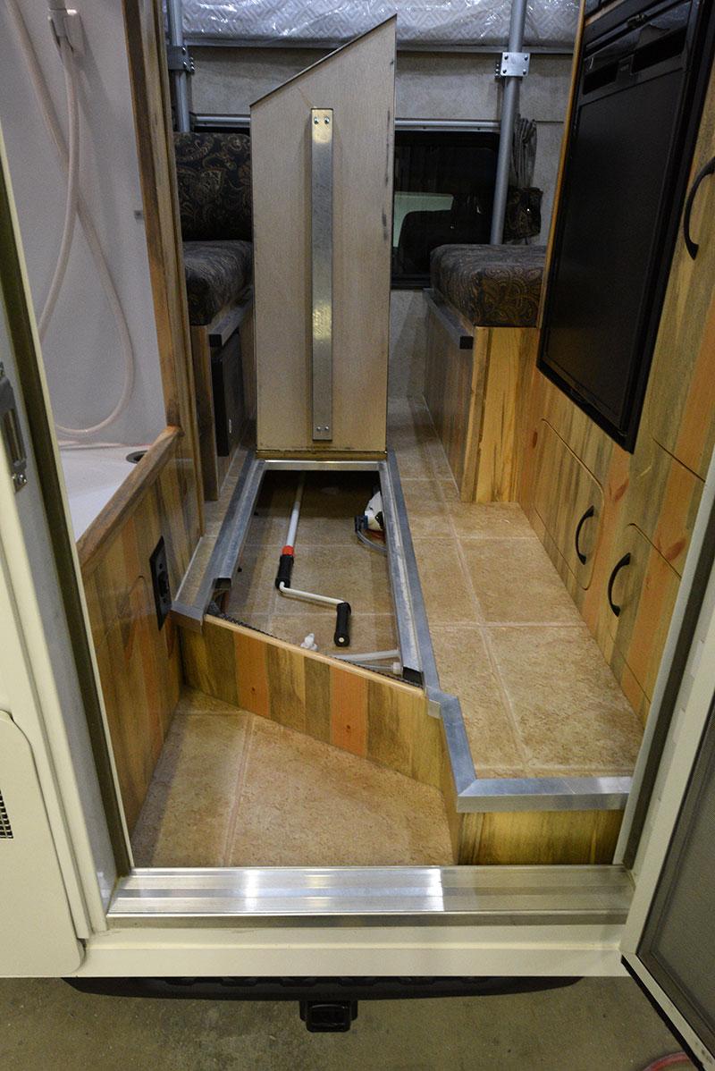 Phoenix Mini Max Entryway Storage Open